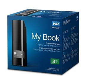 Western Digital My Book External Hard Drive 3TB